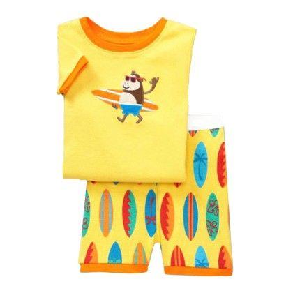 Yellow Character Print T-shirt & Short Set - Lil Mantra
