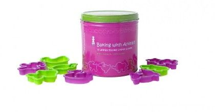 Educational Fun Animals Cookie Cutter Set - The Purple Cow