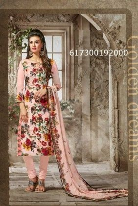 Beautiful Printed Unstitched Suit - Mauve Collection