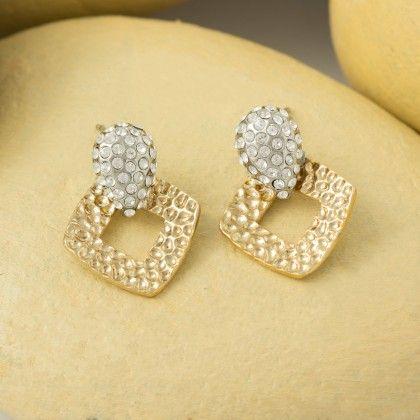 Metal Dangle & Drop Earring - Shriya