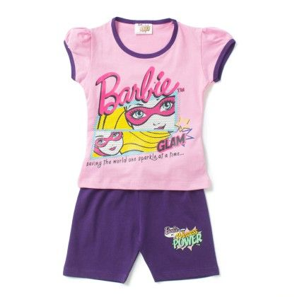 Pink Saving The World T-shirt & Short Set - Eteenz