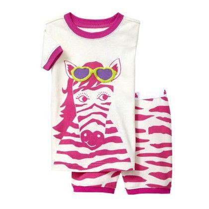 Pink Horse Print T-shirt & Short Set - Lil Mantra