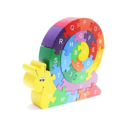 Snazzle (the Rainbow Snail Puzzle) - Shumee