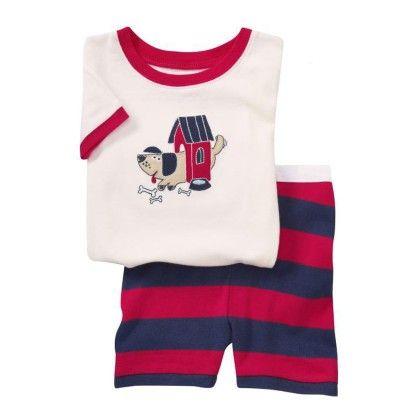 Fuchsia Dog Print T-shirt & Shorts Set - Lil Mantra