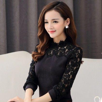 Fashion Casual Long Sleeve Black - STUPA FASHION