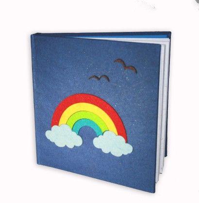 Rainbow Hard Bound Diary - Two For Joy