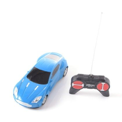 4 Way Remote Controlled Car - Blue - PlayMate