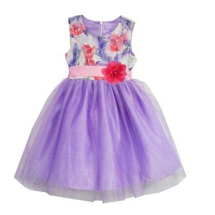 Purple Floral Hope Dress - Joe Ella