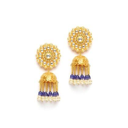 Glamour Jhumki Earrings - Jewlbox