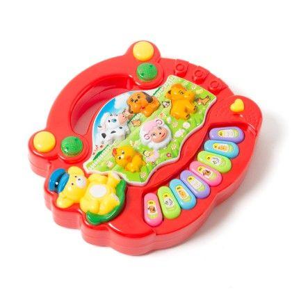 Animal Farm Piano - Red - PlayMate