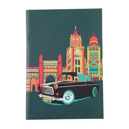 Notebook Cool Cabs Set Of 2 - The Elephant Company