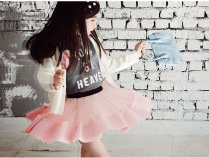 Girl's Pink Party Skirt - Pink Ideal