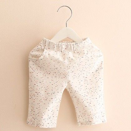 Trendy And Cute Summer Shorts For Boys  - White Print - Mauve Collection