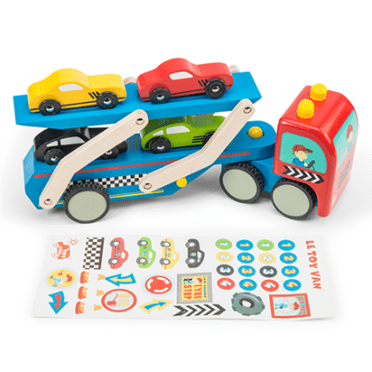 Race Car Transporter Set - Le Toy Van