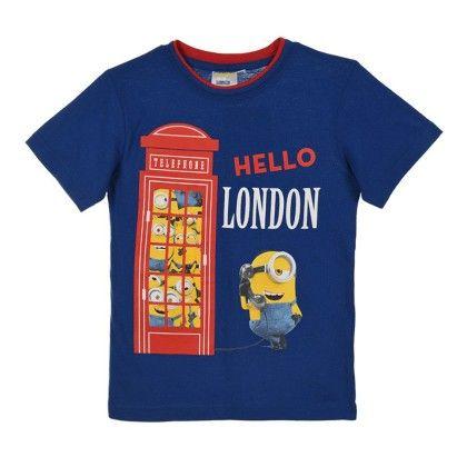 Hello London Blue Minions T-shirt