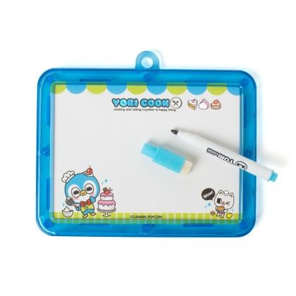 Double Sided White Board (blue) - It's All About Me