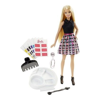 Barbie Spring Hair Feature Doll - Mattel
