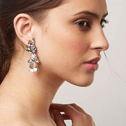 The Shamail Earring - White - The Label Life