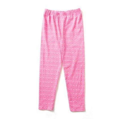 Summer Pink Cotton Legging - Aww Hunnie!!