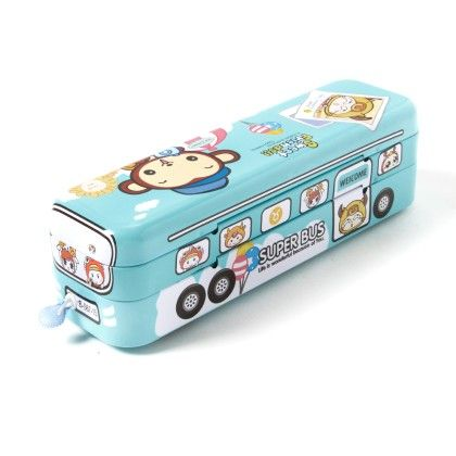 Pencil Box Bus (light Blue) - It's All About Me