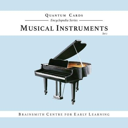 Musical Instruments  (set I) Quantum Cards - Brainsmith