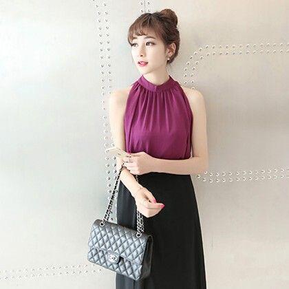Summer Style Chiffon Top - Style O Style - 316400