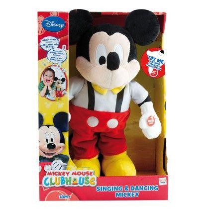 Singing Mickey (soft) - IMC Toys