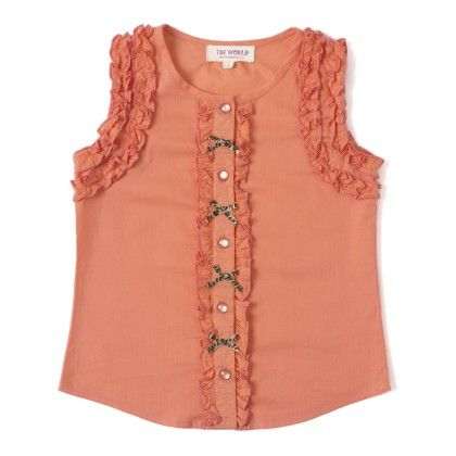 Casual Wear Cotton Top - The World