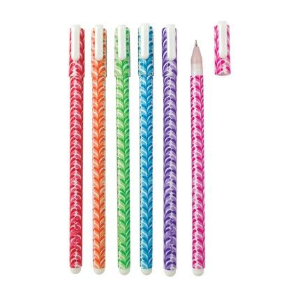 Fine Line Colored Gel Pens Set - International Arrivals