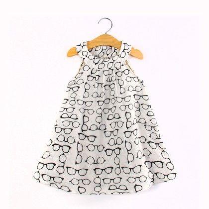 Spec Print Halter Neck Dress - Child NY