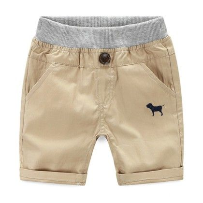Trendy And Cute Summer Shorts For Boys Beige - Mauve Collection