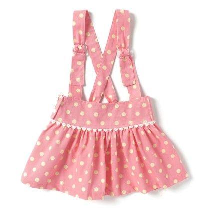 Toddler Cotton Jumper- Polka Print- Pink & Yellow - De Berry