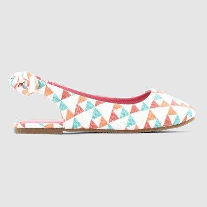 Multi-coloured Graphic Print Sandals - La Redoute