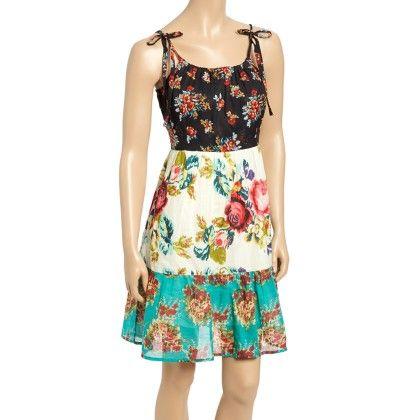 Mint & Black Floral Tiered Dress - Women - Yo Baby
