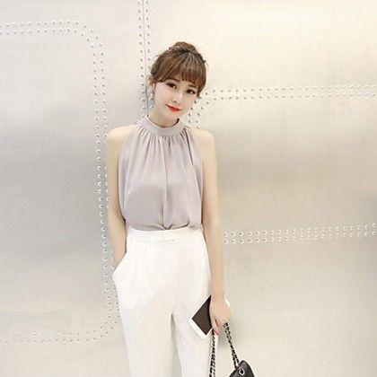 Summer Style Chiffon Top - Style O Style - 316401