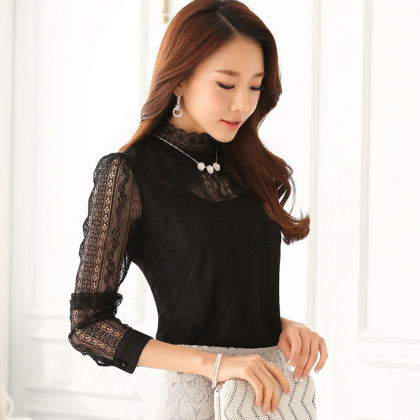 Black Partywear Top - Dell's World
