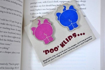Poo Clips Assorted - Tee-K-Dee