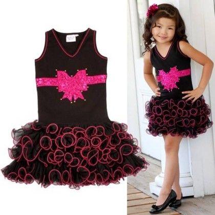 Stylish Black Ruffled Dress - Foshan