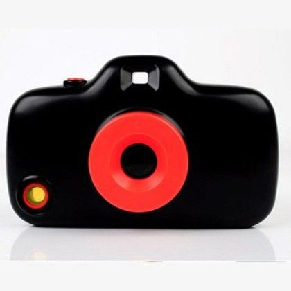 Toy Camera Case For Iphone 5 And 5s - Black - Wink