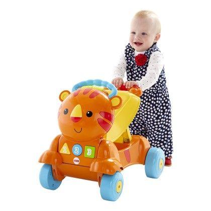 Stride To Ride Tiger - Orange - Fisher Price