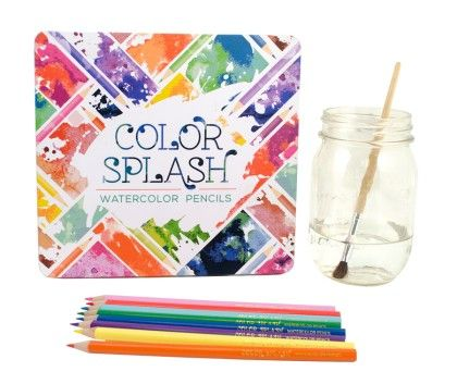 Color Splash Watercolor Pencils- Set Of 24 - International Arrivals