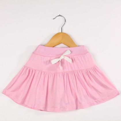 Girl's Casual Skirt- Pink - HZ House