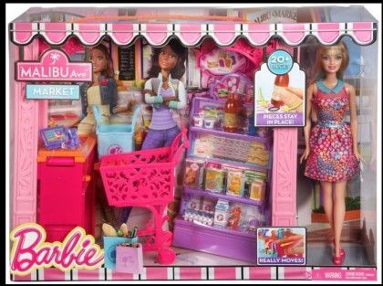 Barbie Life In The Dreamhouse Grocery Store And Doll Play Set - Mattel