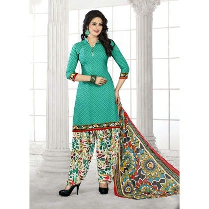 Designer Wear Georgette Suit Dress Material - Balloono
