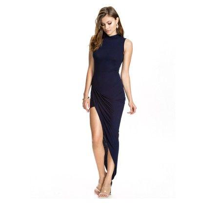 Beachwear Special Slit Dress - Mauve Collection