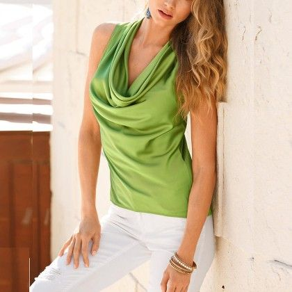 New Fashion Green Colored Top - STUPA FASHION