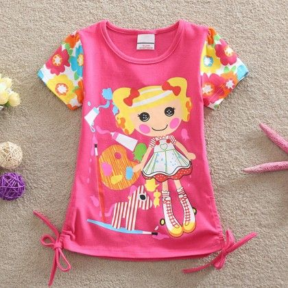 Bright Pink Doll Top - Lilpicks Couture