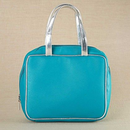 Turquoise Essential Pouch - Blue - The Label Life