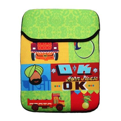 Tablet Sleeve 10inch Truck Story - The Elephant Company