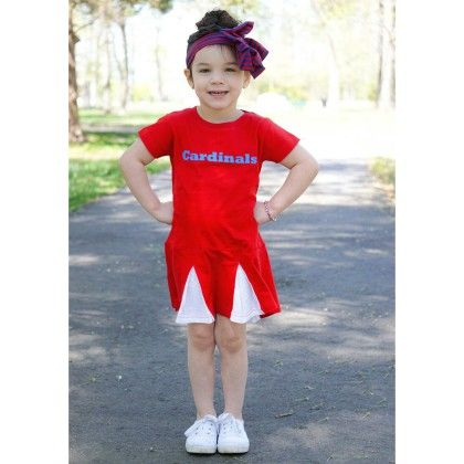 Red Cheer Dress - Dress Up Dreams